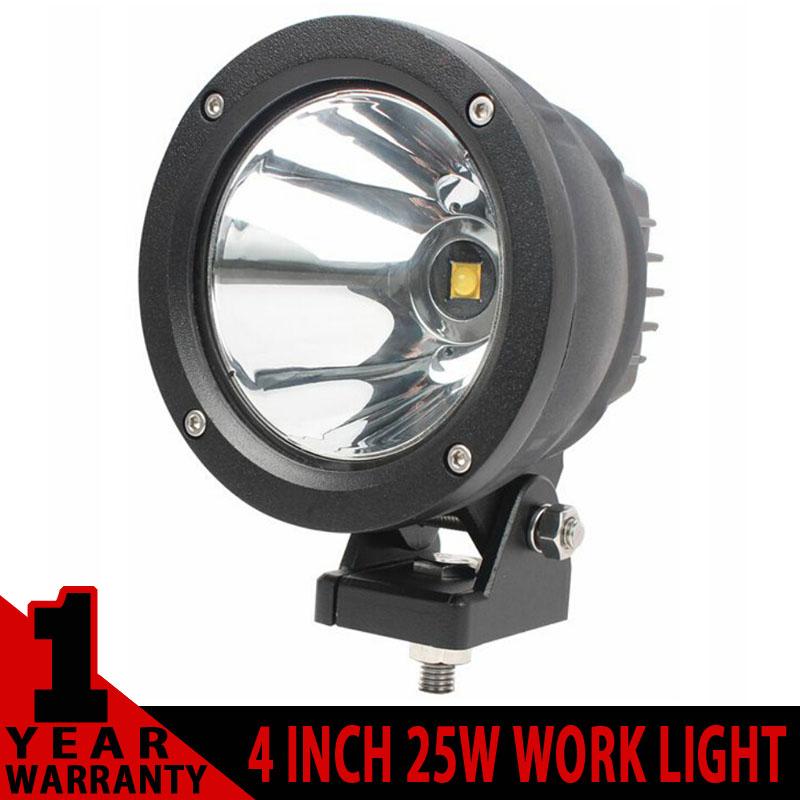 2PCS 4 INCH 25W ROUND LED WORK LIGHT FOR AVT OFFROAD 4x4 TRUCK UTV LED DRIVING EXTERNAL HEADLIGHT WORKING LIGHTS FOG SPOTLIGHT<br><br>Aliexpress