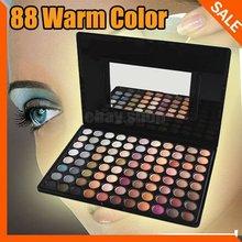 Fashion Pro 88 Warm Color Fashion Eye Shadow Palette Profession Makeup Eyeshadow