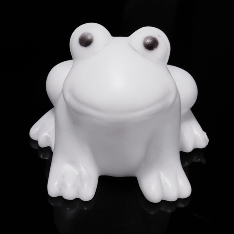 Colors Changing Colorful Energy Magic LED Cute Frogs Night Light Novelty Bedroom Sleeping Nightlights Bed Lamp Gifts(China (Mainland))