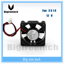 Top quality 12V 35x35x10mm 3510 brushless dc cooling fan DC Axial Flow IPC Exhaust Fan 3D0030