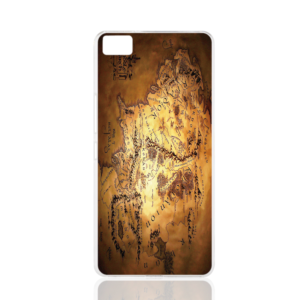 17869 the lord of the rings fantasy art maps cell phone Cover Case for BQ Aquaris M5 for ZUK Z1 FOR GOOGLE nexus 6(China (Mainland))
