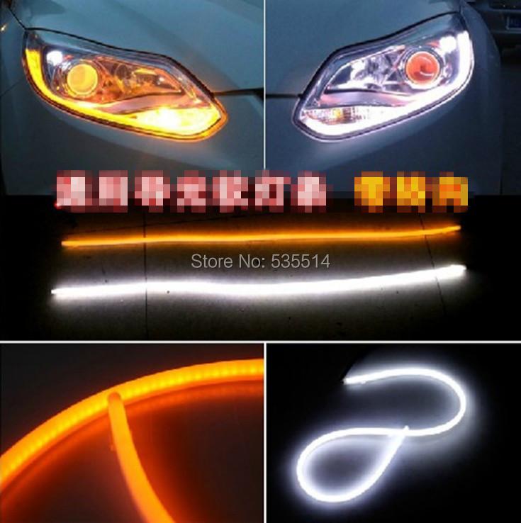 Дневные ходовые огни OEM 2 x 60 Audi , дневные ходовые огни сплошной диод купить