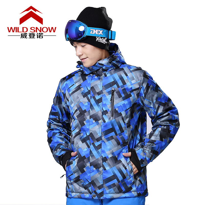Brand Ski Jacket Men Warm Winter Waterpoof Jackets For Skiing Snowboarding Hiking Jackets Male Winter Outdoor Snow Coats HXF07(China (Mainland))