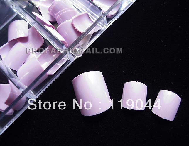 Free Shipping 100PCS/Set purple False Toenail Fake Toe Nails Tip Pedicure With Box NA408F(China (Mainland))