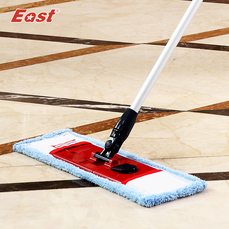East flat telescopic mop with pole microfiber cloth towel for home floor kitchen living room cleaning tools supplier(China (Mainland))