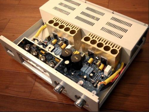 Haoli YAQIN VK2100 12AT7 + 12AU7 Hybrid Tube Stereo Amp Integrated Amplifier L155-17(China (Mainland))