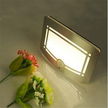 1PCS Novlety Led Night Lamp Motion Senor Smart Lighting Led Bulb Lamp Powered By AA Battery In Warm White For Wall Lamp Lighting(China (Mainland))