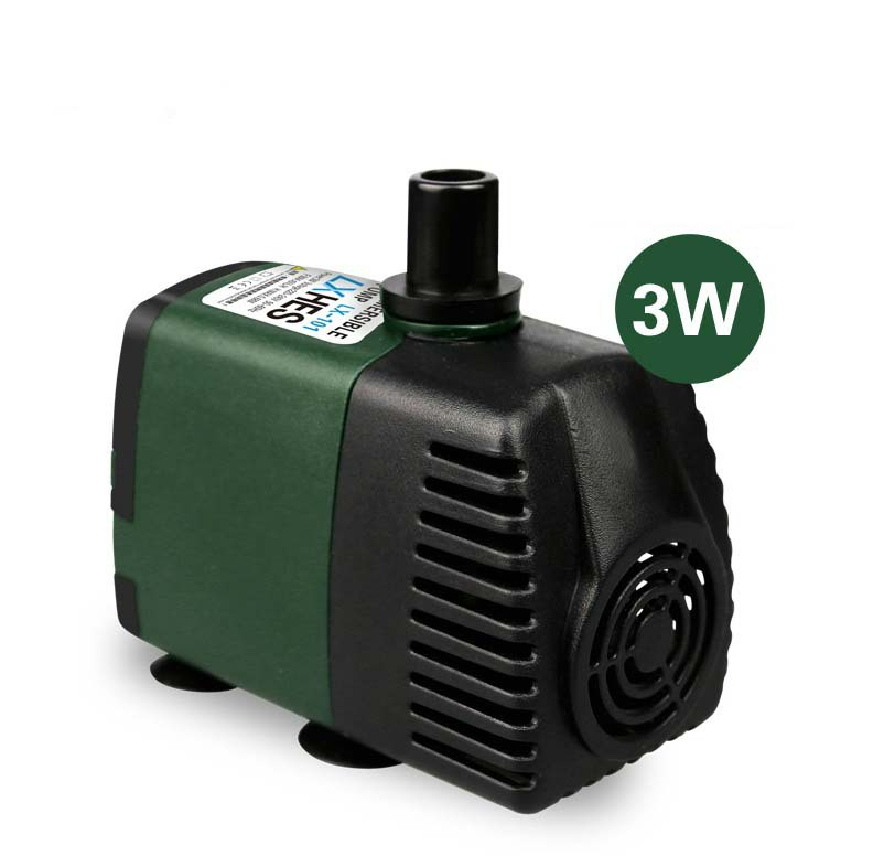 119 gph submersible pump aquarium fish tank powerhead for Hydroponic submersible pump