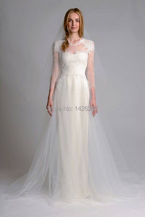 Custome simple and elegant a line lace cheap wedding for Cheap wedding dresses made in china