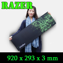 Razer mouse pad BIG SIZE, 920 mouse pad Gaming Edition locking edge