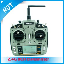Full Range 2.4GHz DSSS-X 8 channel transmitter digital proportional radio RC 2000 meters for fixed wing glider helicopters