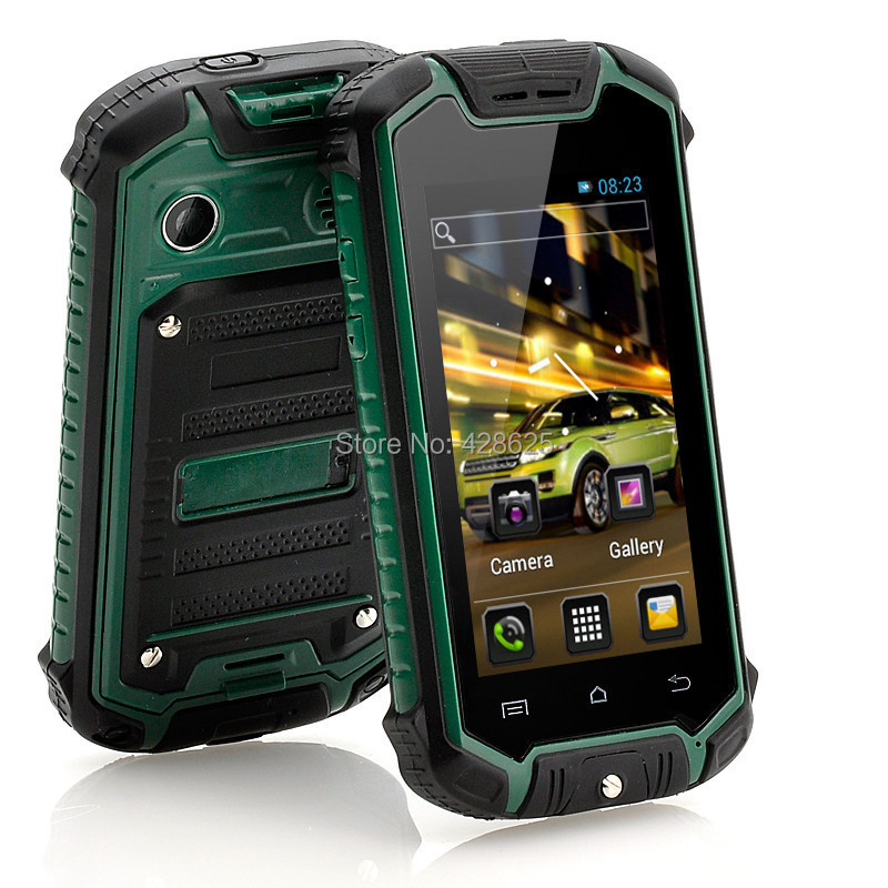 Mini Discovery Z18 Waterproof Rugged Cell Phone MTK6572 Dual Core Mini Discovery V5 Android Mobile Phone Multi Languages(China (Mainland))