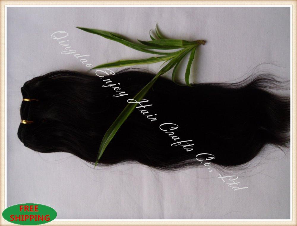 Queen brazilian Hair natural wave weft Cheap Unprocessed color Black Weave hair Extensions - Qingdao Enjoy Crafts Co., Ltd store