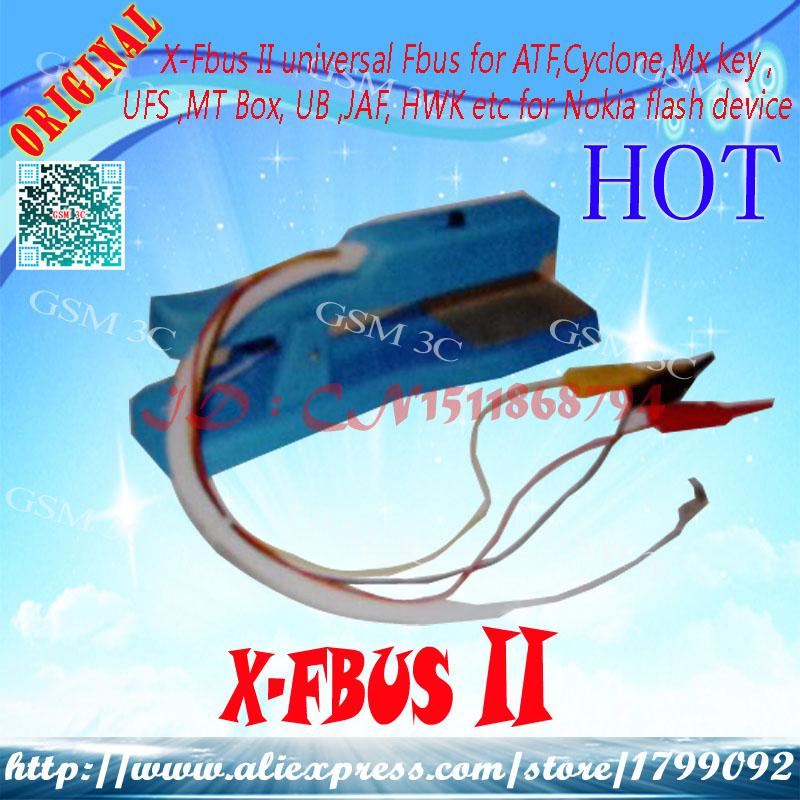 X-Fbus II universal Fbus for ATF,Cyclone,Mx key , UFS ,MT Box, UB ,JAF, HWK etc for Nokia flash device Free fast shipping(China (Mainland))