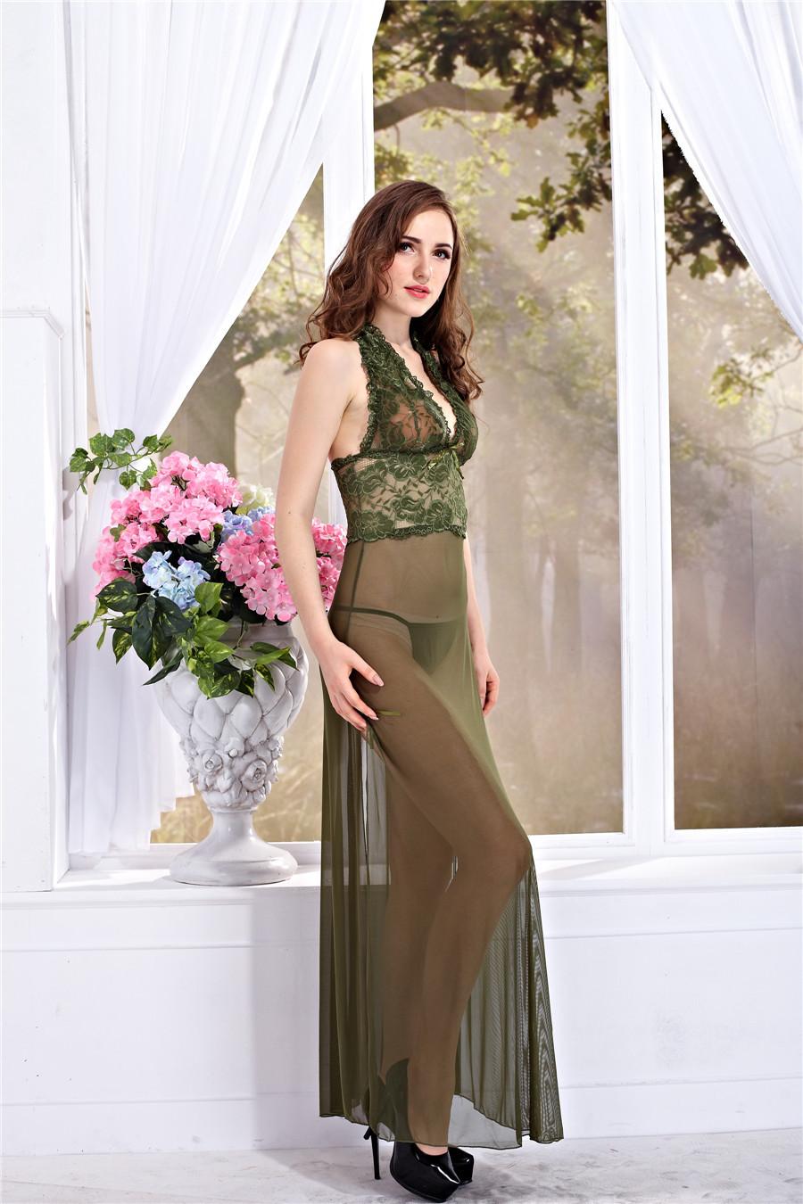JiaHuiGe Sexy Lingerie Hot Erotic Lace Lingerie Dress for Ladies Women Babydoll Sexy Lingerie Dress Transparent Sleepwear Sex