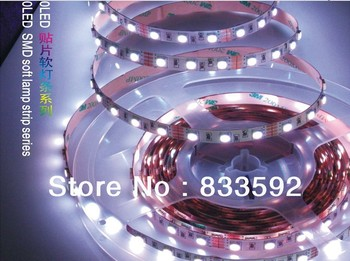 New 2013 10M/lot 5m/roll rgbw controller 5050 led strips light,blue/red/white flexible string  for decoration, Free Shipping