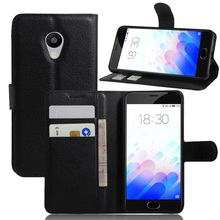 Buy Flip Wallet Case Meizu m3s/M3 Mini PU Leather Cover Black Silicone back Skin 2 Card Slots Holder Stand Phone Cases for $3.45 in AliExpress store