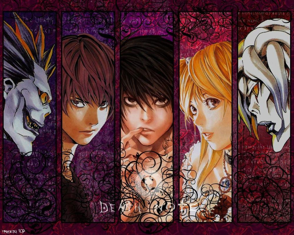 Death Note Japanese Animation Cartoon Anime 40x60cm cool WALL Home Decor POSTER P1202 - wall sticker Home Decor Poster