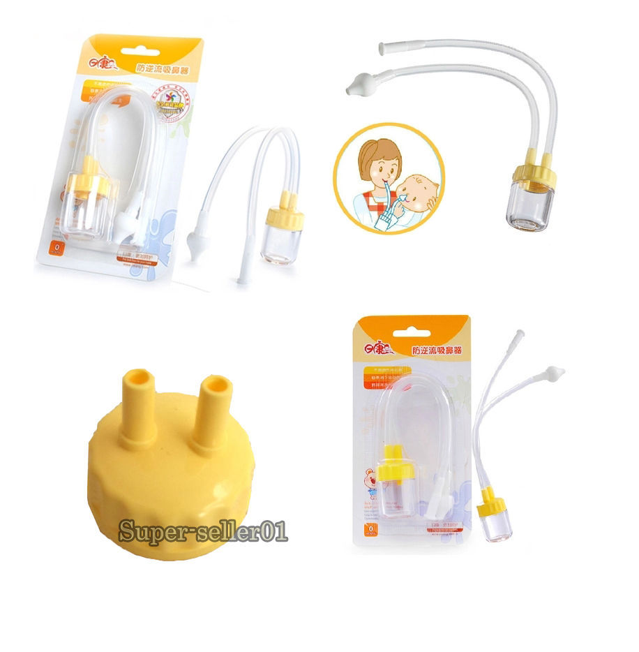 1 Pcs Infant Safe Nose Cleaner Vacuum Suction Nasal Mucus Runny Aspirator High Quality Hot Baby Kids Healthy Care Convenient(China (Mainland))