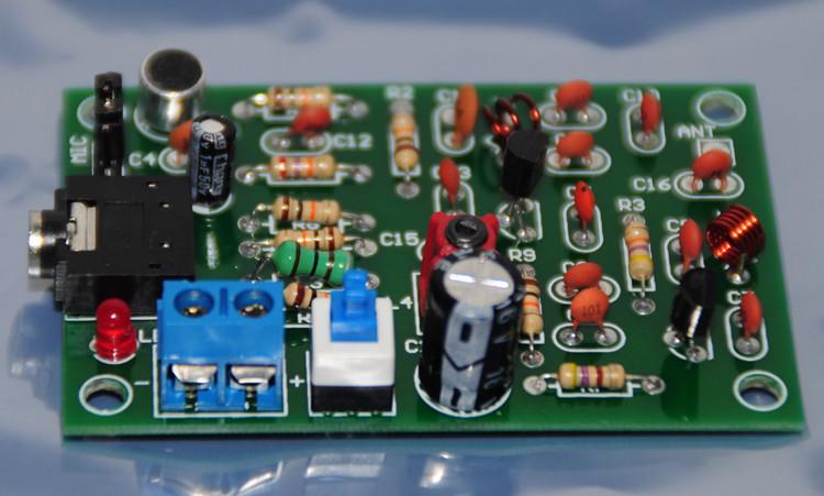 FM передатчик схема MP3 аудио