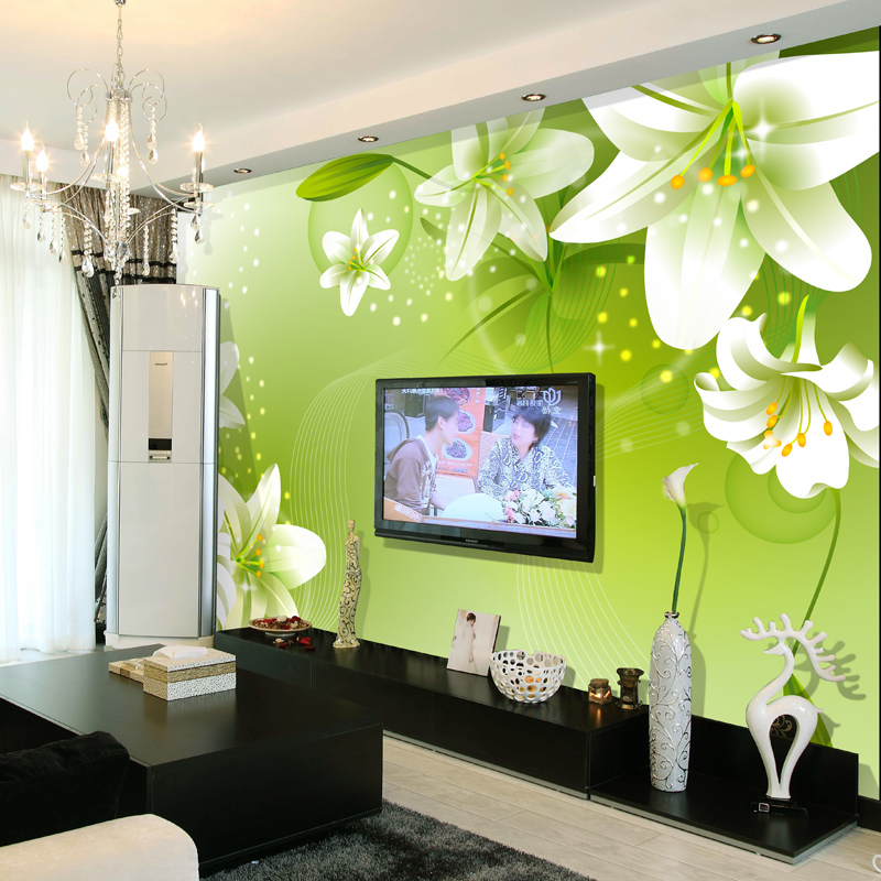 Wallpaper bedroom picture more detailed picture about Wallpaper and paint ideas living room