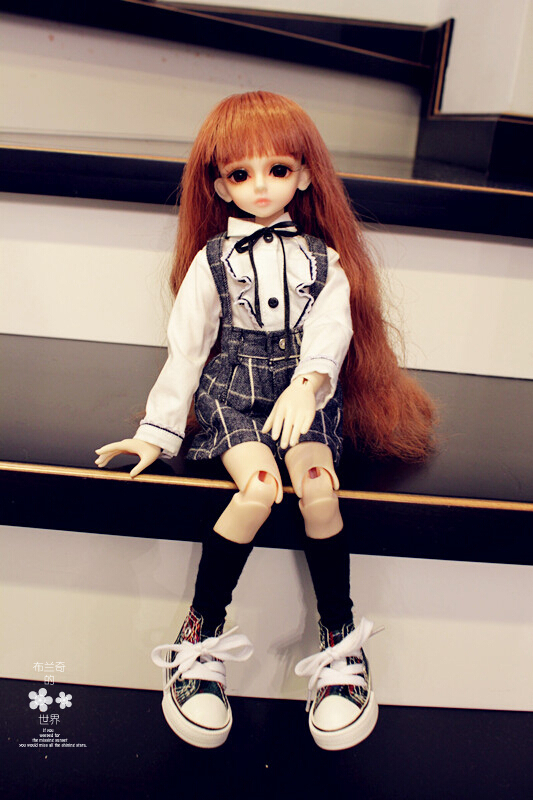 bjd sd doll socks 1/3 1/4 1/6 uniforms ladies suits culottes bjd clothes(China (Mainland))