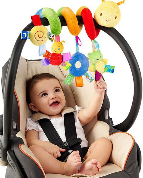New Infant Toys Baby crib revolves around the bed stroller playing toy crib lathe hanging baby Rattles Mobile