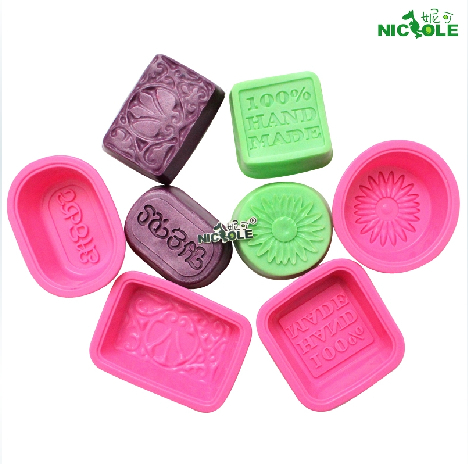 (10sets/lot) Silicone molds for cake decorating pudding jelly dessert soap chocolate mold daisied combination soft mould B0132(China (Mainland))