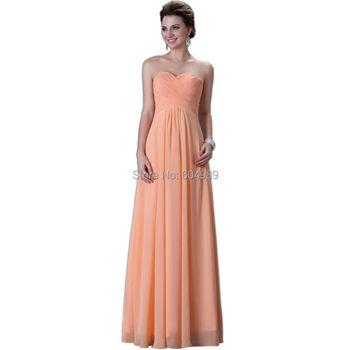2015 Special occasion dresses plus size Grace Karin elegant Long Evening Dresses Party Gown Formal Prom Dress vestido longo 3409