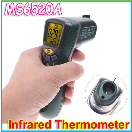 Register 1pcs Original Non-Contact Infrared Thermometer, MASTECH MS6520A Digital Display For Industrial Temperature Test<br><br>Aliexpress