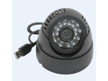 New DVR dome camera card slot TF card surveillance camera surveillance camera shell 10 m infrared camera TF card USB storage
