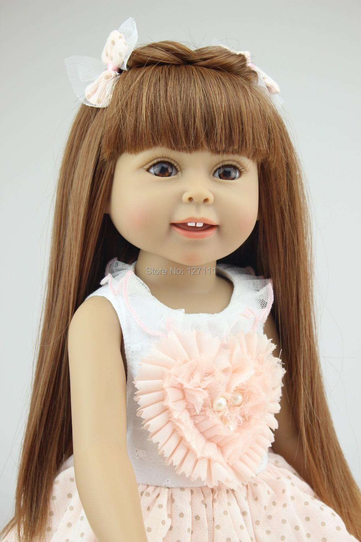 Гаджет  18 inch American girl doll  Baby Alive Toys girl birthday gift Valentine