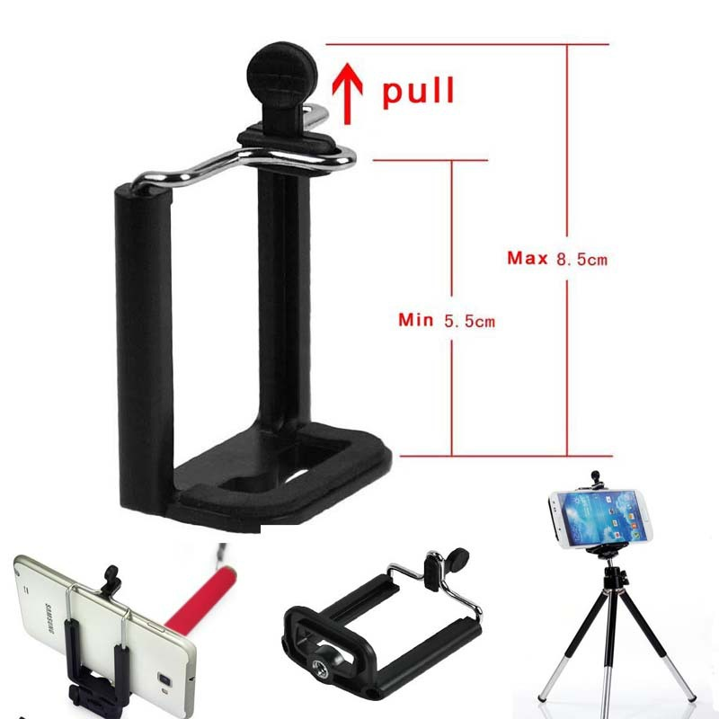 Flexible Tripod Holder Clip Mobile Phone Accessories for iPhone ipod touch Nokia Lumia With 1/4 Camera Stand Clip(China (Mainland))