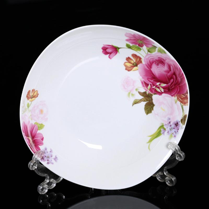 Platos de porcelana blanca al por mayor de alta calidad de for Platos porcelana blanca