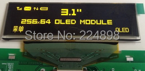 3.1 inch 30P SPI Yellow OLED Display Screen SSD1322 Drive IC 256*64 8Bit Parallel Interface(China (Mainland))