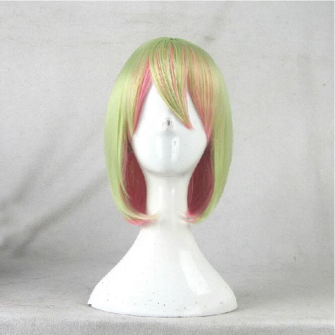 No Game No Life Teto Kasane Cos Anime Wig Cosplay Costume Wigs Short Hair 35CM Man + Free Cap<br><br>Aliexpress