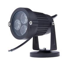 9 Watt FÜHRTE rasen-lampen außenbeleuchtung IP65 Wasserdichte LED Garten Pond Flood Spot Light AC 110 V 220 V(China (Mainland))