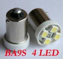 T11 BA9S 4 SMD LED T4W Lampe Birne Licht Auto 12V DC(China (Mainland))