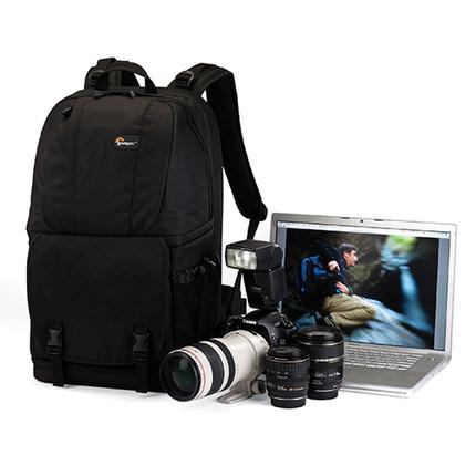"Freeshipping Lowepro Fastpack 350 DSLR Digital SLR Photo Camera Bag double-shoulder Backpack&Laptop 17 "" computer bag+rain cover(China (Mainland))"