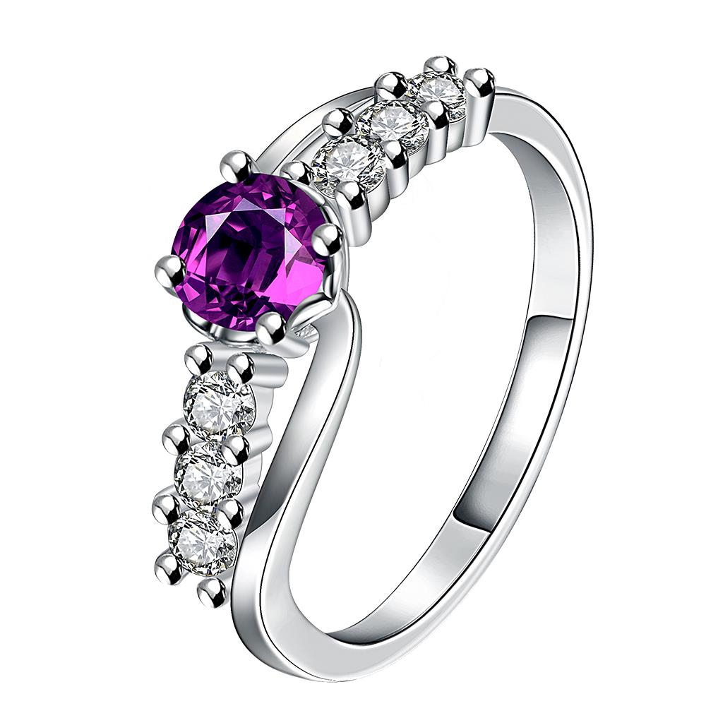 Free Shipping online shopping india silver Engagement rings Purple vines anel feminino men jewelry FSPR030(China (Mainland))