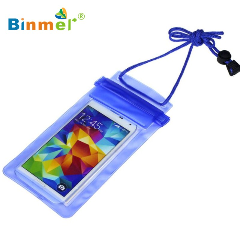 Binmer Multicolor New Travel Swimming Waterproof Bag Case Cover for Iphone 5 5s 6 6s Under 5.5 inch Phone NOV23X40(China (Mainland))