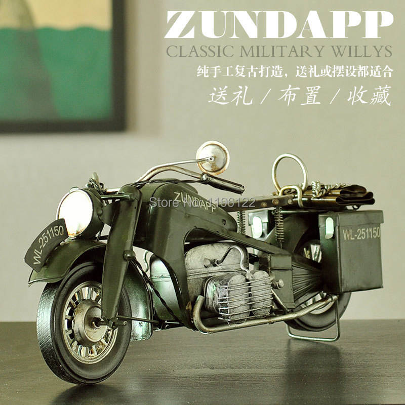 Hand made american motorcycle vintage zundapp motor for Personalized home decor