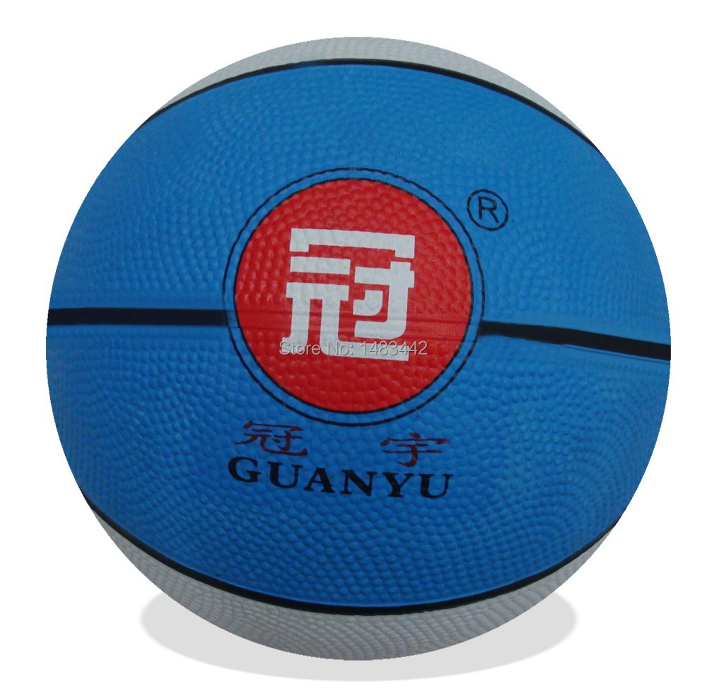 Free shipping - manufacturer promotions, the 3th multicolor, competitions, training, low-cost, rubber basketball(China (Mainland))