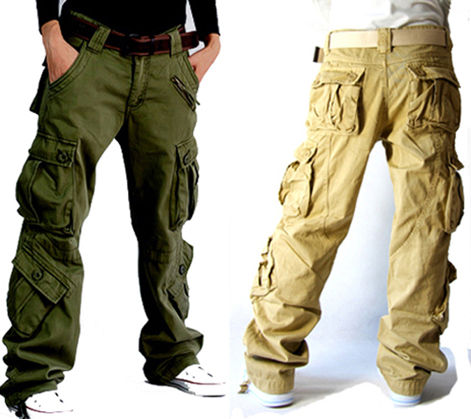 Fantastic Green Cargo Pants Women Baggy Hip Hop Cargo Pants For Women