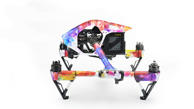 D6 Wrap Body Skin Decal Sticker for DJI Inspire 1