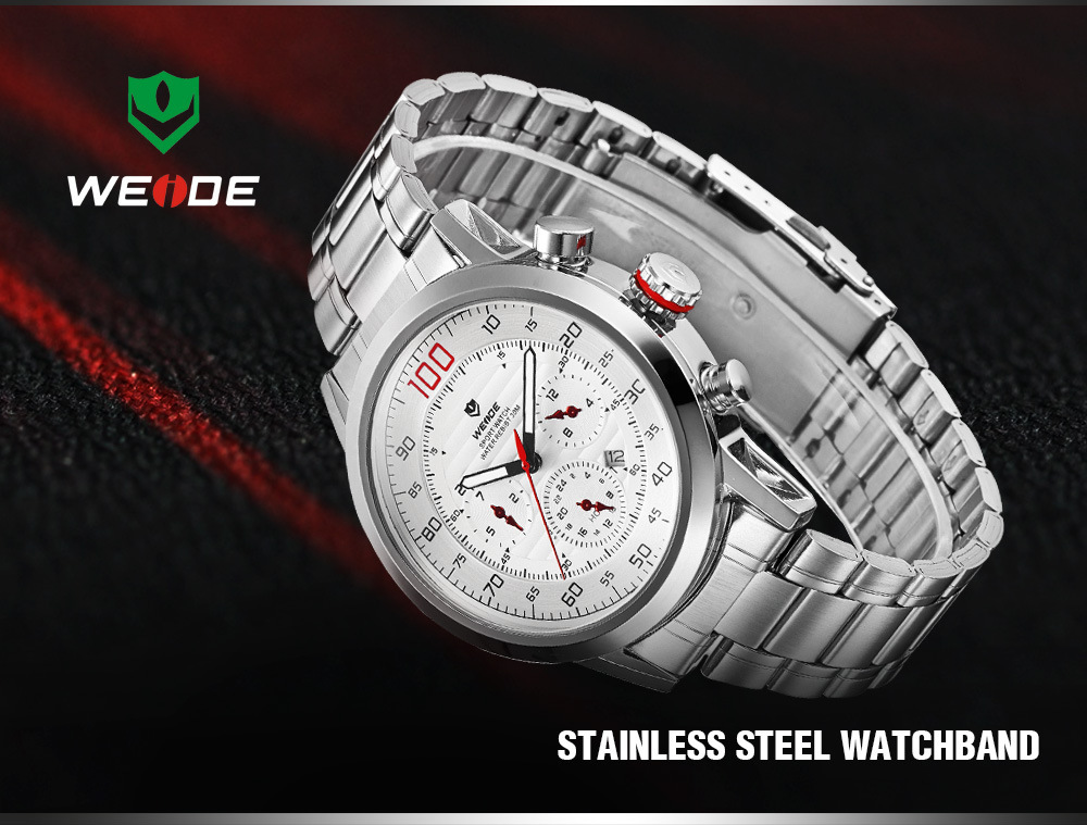 European and American wind men watch business noctilucent waterproof full function(China (Mainland))