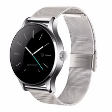 Buy K88H Smart Watch 1.22 Inch IPS Round Screen Support Heart Rate Monitor Bluetooth SmartWatch iphone huawei xiaomi IOS Android for $47.99 in AliExpress store
