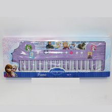 2015 Best Christmas Gift Elsa Education Toy Musical Instrument Electronic Mini Kids Children Toy Piano With Microphone(China (Mainland))