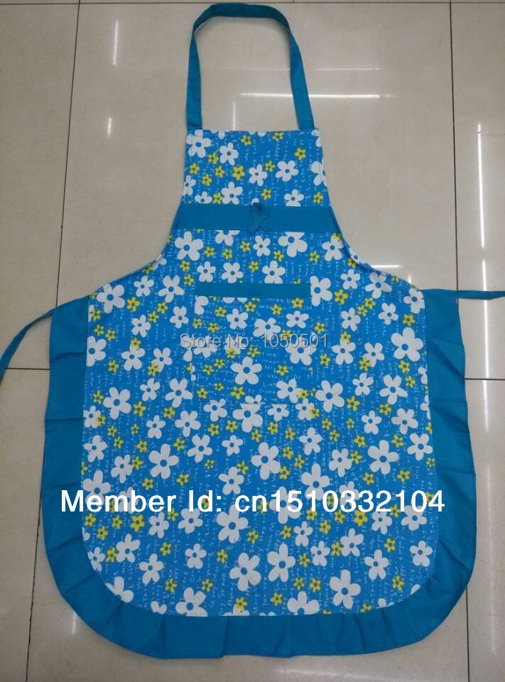 Manufacturers selling Korean antifouling To bear or endure dirty canvas cartoon cleaning and hygiene apron(China (Mainland))