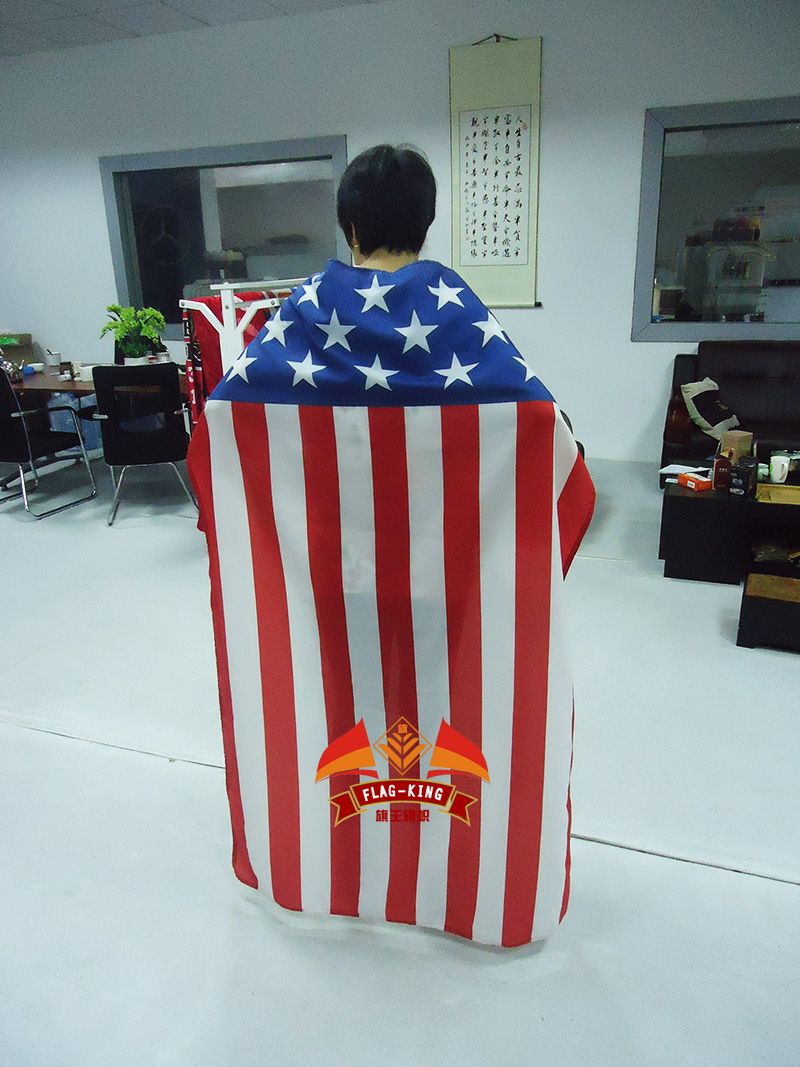 United States national body fans flag ,100% polyester 75*120cm can be custom different size(China (Mainland))